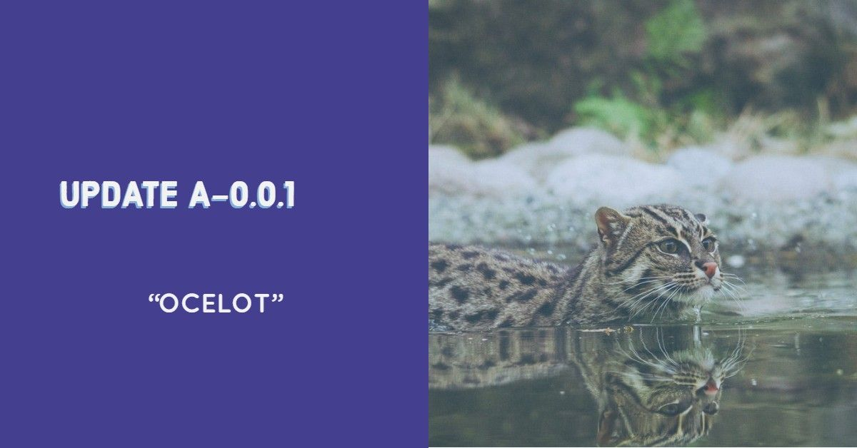 "Update Alpha 0.0.1 ""Ocelot"""