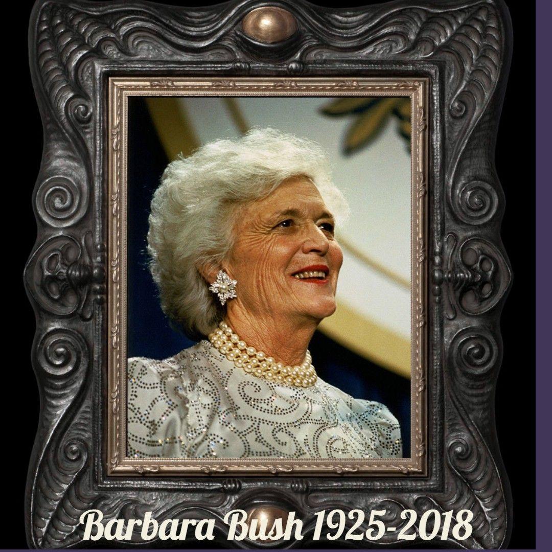 Barbara Bush Dies