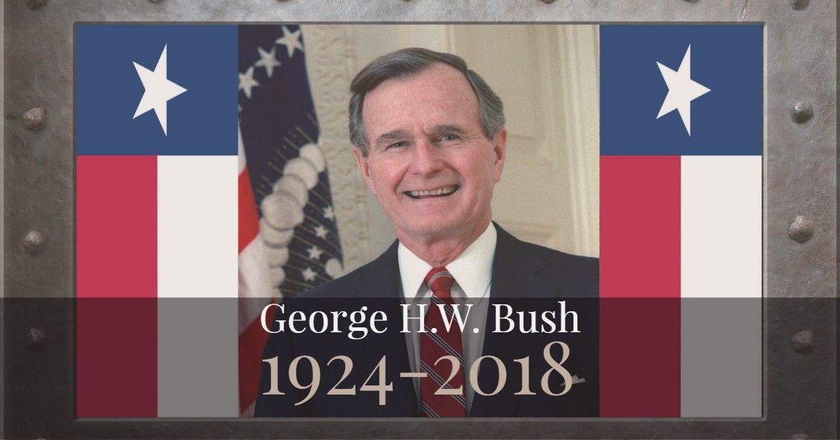 George H.W. Bush Dies
