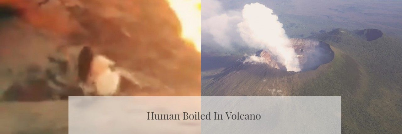 Woman Boiled To Death In Volcano