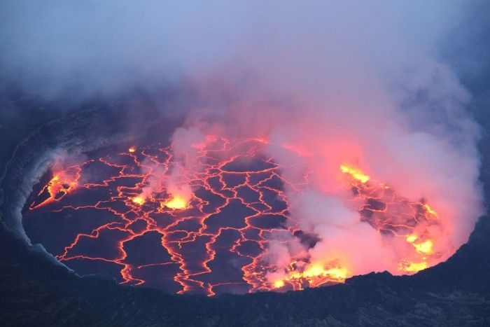 New African Lava Lake