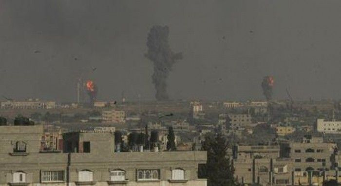 Israel launches attack into Palestine