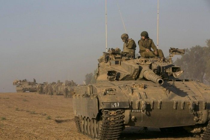 Israel continues to push into Gaza