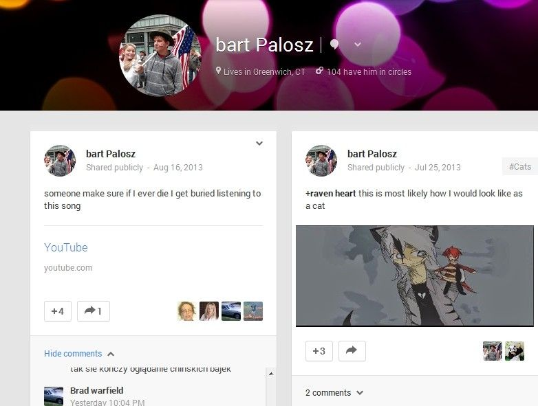 15 year old kid murders himself after posting on google plus