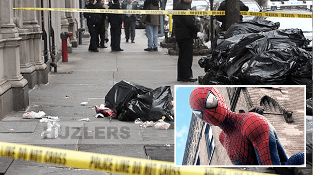 12 year old jumps out of 6th story building after watching Spiderman