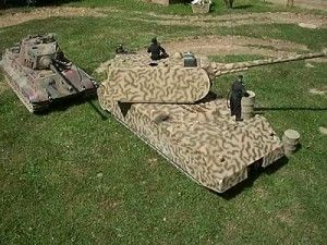 A British reconstruction of a MAUS super-Heavy Tank