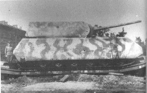 Completed Maus Winter Camo