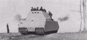 Germans Riding On A Maus