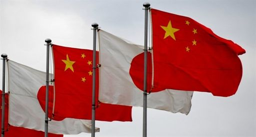 Conflict between Japan and China on the rise