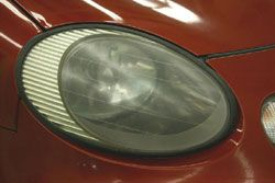 Making your car's headlights shine like new