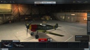 BF109C Red Nose Green Chassis