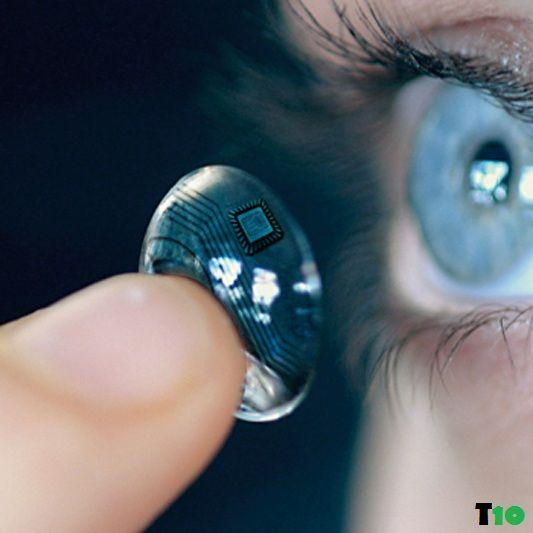 Lens close up
