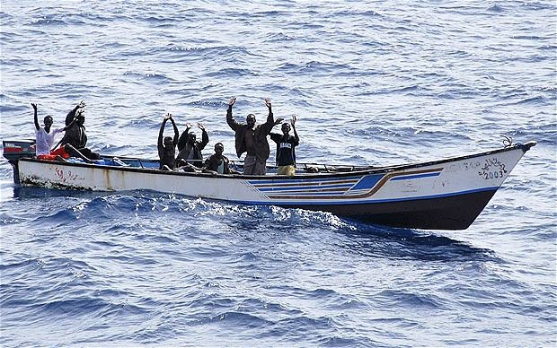 Engagement off the coast of  Eyl, Somalia results in injury to attackers