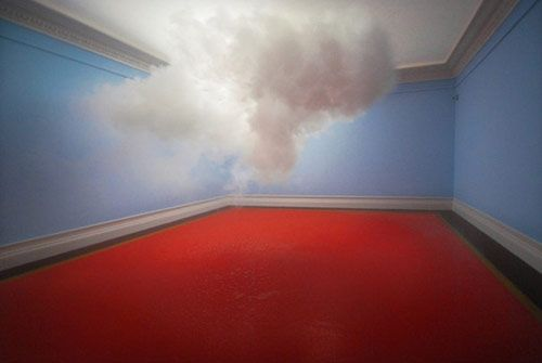 Dutch artist creates clouds