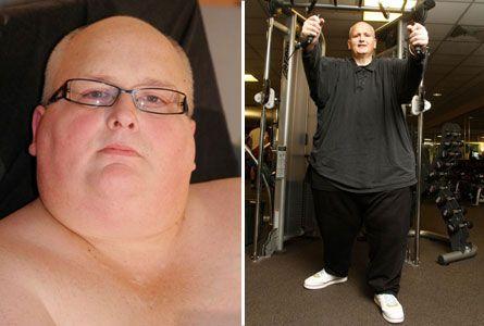 World's fattest man sheds pounds