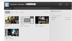Boston Bomber older brother's youtube