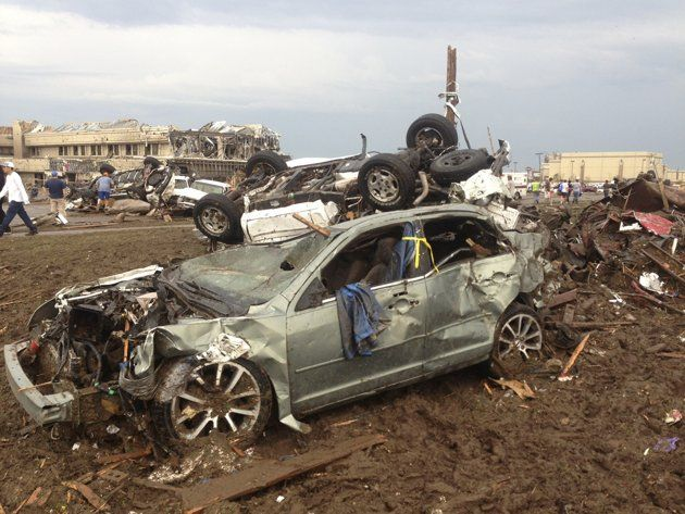 oklahoma tornado destroys town