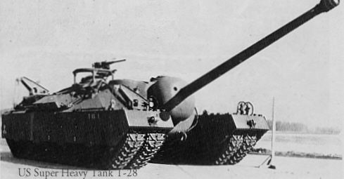 T28 Superheavy Tank