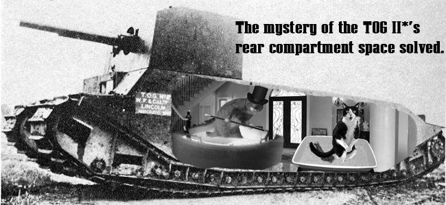 the mystery of the tog II's length has been solved!
