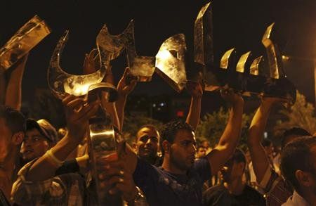 Egyptians revolt again