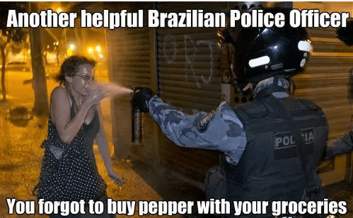 you forgot to buy the pepper