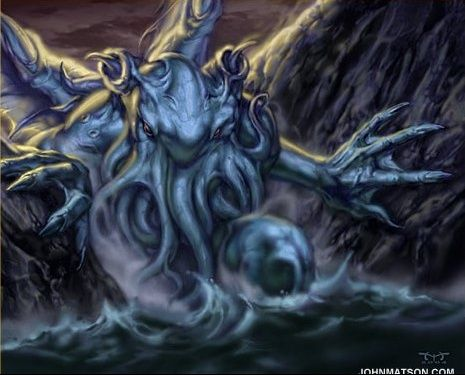 Cthulhu arises to swallow some souls