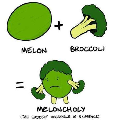 meloncholy the saddest vegetable in existance