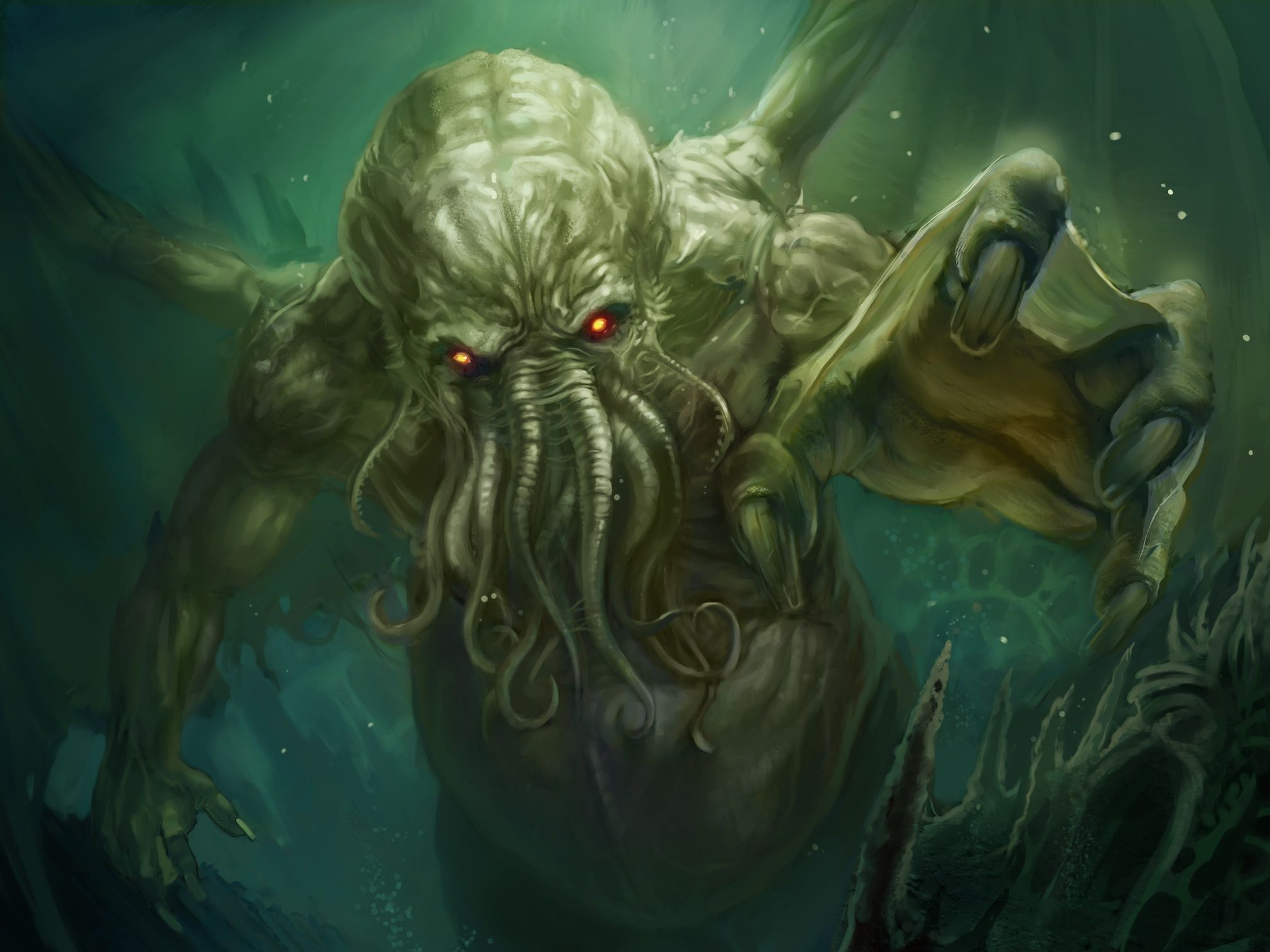 Cthulhu Rising To The Surface