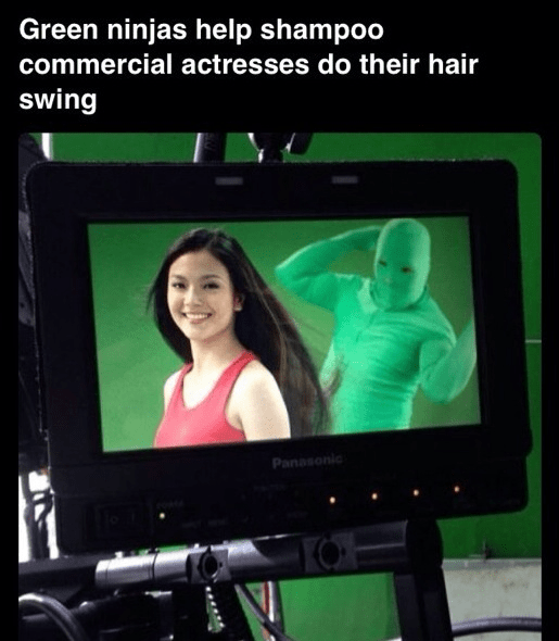 facts about shampoo commercials